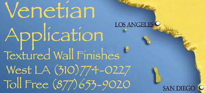 Venetian Plater Application Los Angeles